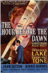 The Hour Before the Dawn 1944 DVD - Franchot Tone / Veronica Lake
